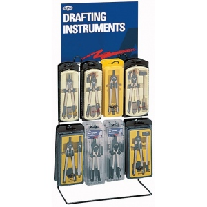 Alvin® Drafting Instruments Display: Compass/Divider, (model 1718D), price per each