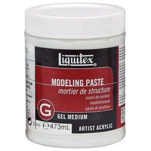 Liquitex® Modeling Paste 16oz: 16 oz, Texture, (model 5516), price per each