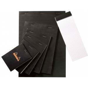 "Rhodia 4 x 5.75 Graphic Sketch/Memo Pad: Pad, 5"" x 5"", 80 Sheets, 4"" x 5 3/4"", 20 lb, (model RB13), price per 80 Sheets pad"