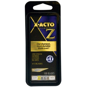 X-Acto® #11 Blades 100-pack: Replacement Blade, (model XZR-611), price per pack