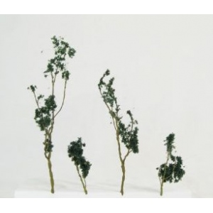 Wee Scapes Architectural Model Foliage Tree Dark Green 24-Pack.