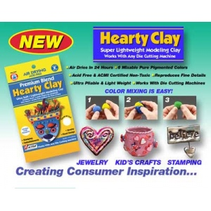 Activa Hearty Clay: White