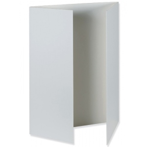 "Pacon® White Foam Presentation Boards: White/Ivory, 12 Piece, 36"" x 48"", Foam Board, (model PAC3861), price per 12 Piece box"