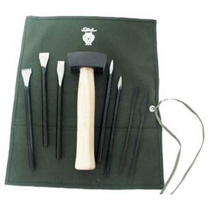 Alabaster Carving Set