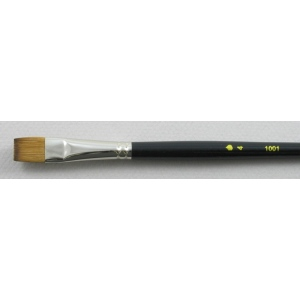 Trinity Brush Kolinsky Sable Short Handle Bright Brush # 4 (Made in Russia)