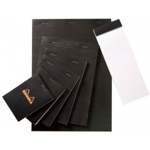 "Rhodia 6 x 8.5 Graphic Sketch/Memo Pad: Pad, 5"" x 5"", 80 Sheets, 6"" x 8 1/2"", 20 lb"