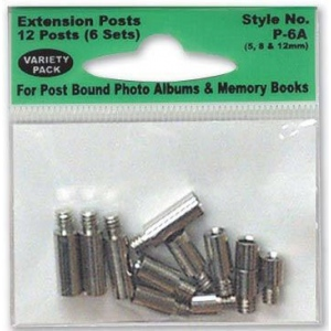 Pioneer Extension Posts Asst 6 Sets/Pk