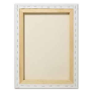 "Fredrix® Artist Series Red Label 8"" x 8"" Stretched Canvas: White/Ivory, Sheet, 8"" x 8"", 11/16"" x 1 9/16"", Stretched, (model T50452), price per each"
