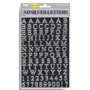 Pioneer® Letter Stickers