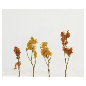 "Wee Scapes™ Architectural Model Foliage Tree Fall Mix 24-pack: Multi, Wire, 24-Pack, 1 1/2"" - 3"", Tree, (model WS00311), price per 24-Pack"