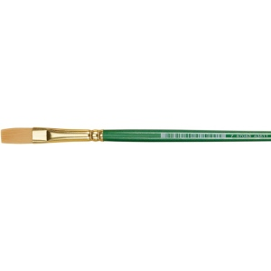 Princeton™ Good Synthetic Sable Watercolor and Acrylic Brush Stroke 050: Good, Short Handle, Synthetic Sable, Stroke, Acrylic, Watercolor, (model 4350ST-050), price per each