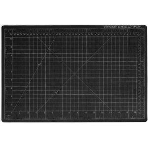 "Dahle Vantage Self Healing Cutting Mat: Black, 36"" x 48"" Cut Size"