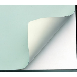 "Alvin® VYCO Green/Cream Board Cover 37 1/2"" x 10yd: Green, White/Ivory, Roll, Vinyl, 37 1/2"" x 10 yd"