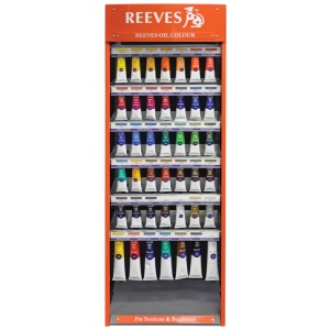 Reeves Oil Color Paint Display Assortment