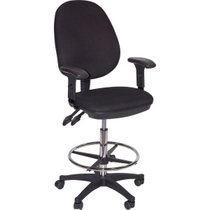 Martin Grandeur Manager's Draft High Chair Black: Model # 91-02606115