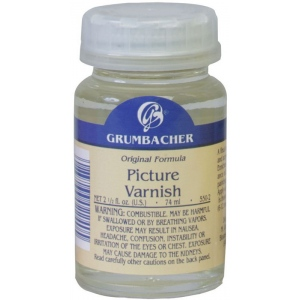 Grumbacher Picture Varnish