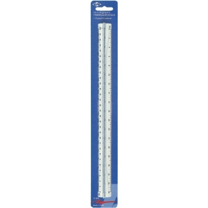 "Alvin® 110 Series 12"" High Impact Plastic Engineer Triangular Scale"