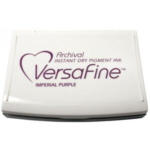 VersaFine™ Fast-Drying Pigment Ink Full Size Pad Imperial Purple: Purple, Pad, Pigment, Full Size Rectangle, (model VF037), price per each
