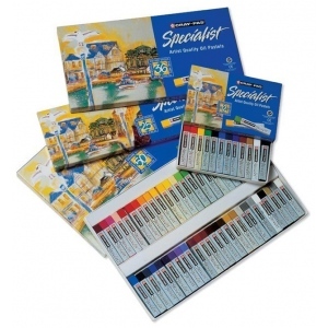 Cray-Pas® Specialist® Oil Pastel 50-Color Set: Multi, Stick, Oil, (model ESP50), price per pack