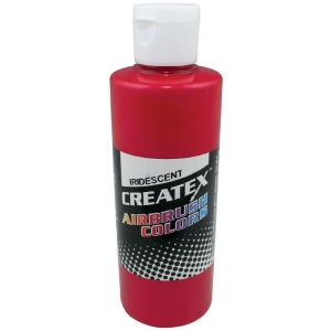 Createx™ Airbrush Paint 2oz Iridescent Red: Red/Pink, Bottle, 2 oz, Airbrush, (model 5501-02), price per each