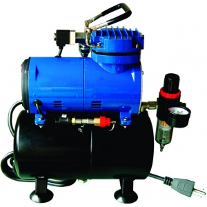 Paasche D3000R Air Compressor: 1/8 HP