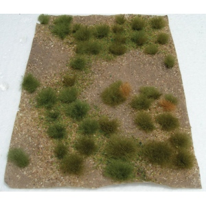 "Wee Scapes™ Architectural Model Wild Grass Green Meadow Sheet: Green, Sheet, 4 7/8"" x 6"", Meadow, (model WS00315), price per each"