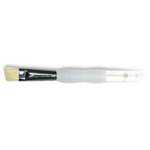 Royal & Langnickel® Soft Grip™ Stiff Hog Bristle Foliage Brush 8: Stiff Hog Bristle, Foliage, 8, Acrylic, Oil, Watercolor