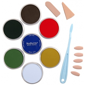 PanPastel® Ultra Soft Artists' Painting Pastel Scenery Set: Multi, Pan, Ultra Soft, (model PP30703), price per set