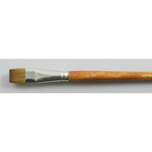 Kolinsky Sable Long Handle Bright Brush # 16 (Made in Russia)