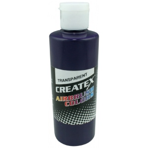 Createx™ Airbrush Paint 4oz Red Violet: Purple, Red/Pink, Bottle, 4 oz, Airbrush