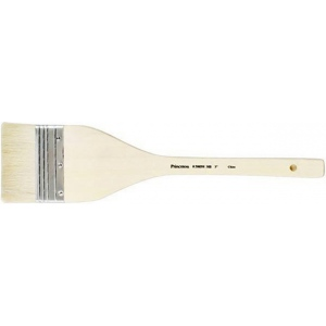 "Princeton™ Long Handle Brush Hake Brush 3"": Long Handle, Natural, Hake, Watercolor, (model 2900H-3), price per each"