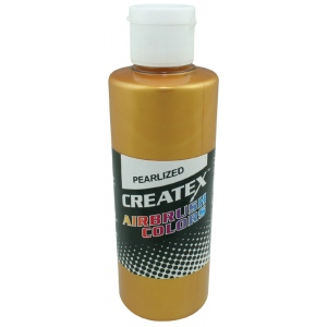 Createx™ Airbrush Paint 4oz Pearlescent Copper: Metallic, Bottle, 4 oz, Airbrush, (model 5306-04), price per each