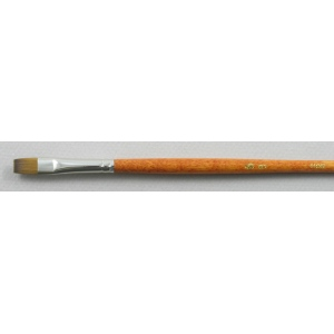 Trinity Brush Kolinsky Sable Long Handle Bright Brush # 8 (Made in Russia)