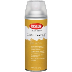 Krylon® Gallery Series™ Conservation Varnish Spray Gloss: Gloss, 11 oz