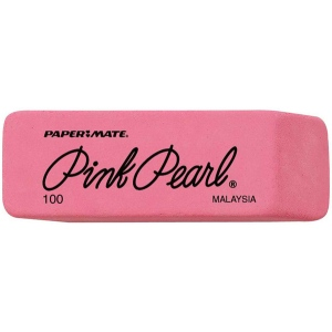 Pink Pearl Medium Erasers