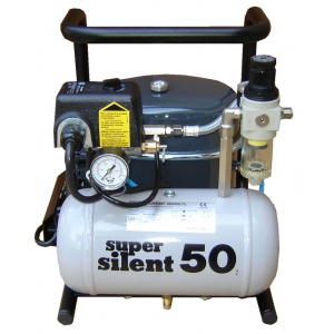 Silentaire Super Silent 50-TC Silent Running Airbrush Compressor