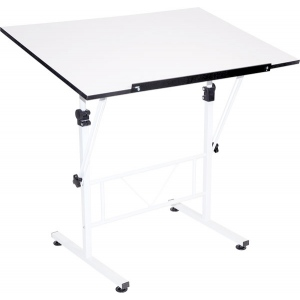 "Smart Drafting/Hobby Table with 24"" x 36"" Top: Model # U-DS40W"