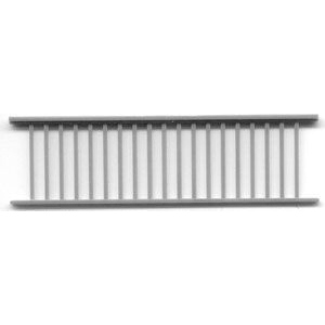 "1/4"" Scale Architectural Components: Porch and Lanai Railing, Set of 3"