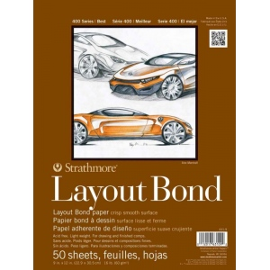 Strathmore® 400 Series Glue Bound Layout Bond Pad