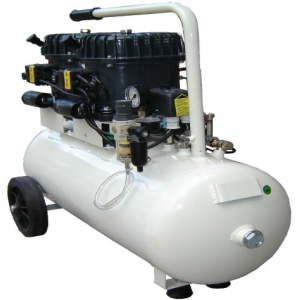 Silentaire Val-Air 100-50 AL Silent Running Airbrush Compressor: Oil Lubricated, Portable Air Compressor