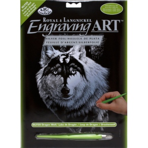 Royal & Langnickel® Engraving Art Set Silver Foil