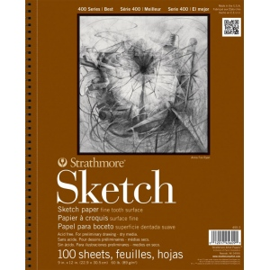Strathmore® 400 Series Wire Bound Sketch Pad
