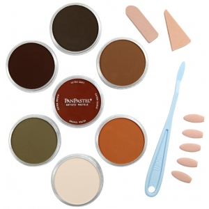 PanPastel® Ultra Soft Artists' Painting Pastel Weathering & Rust Set: Multi, Pan, Ultra Soft, (model PP30701), price per set
