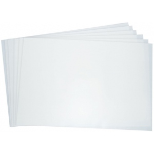 "Grafix® 18"" x 24"" Double Tack Mounting Film: Clear, Sheet, 18"" x 24"", (model SDT1824), price per pack"