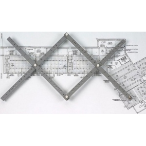"Alvin® 18"" Wood Pantograph: Wood, 18"", Scale, (model PA305), price per each"