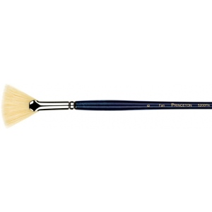 Princeton™ Good Natural Chinese Bristle Oil and Acrylic Brush Fan