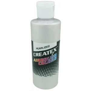 Createx™ Airbrush Paint 2oz Pearlescent White: White/Ivory, Bottle, 2 oz, Airbrush, (model 5310-02), price per each