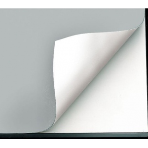"Alvin® VYCO Gray/White Board Cover 37 1/2"" x 48"" Sheet: Black/Gray, White/Ivory, Sheet, Vinyl, 37 1/2"" x 48"""