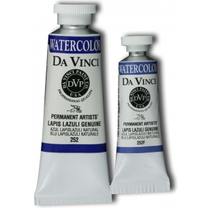 Da Vinci Artists' Watercolor Paint 37ml Lapis Lazuli Gen: Blue, Tube, 37 ml, Watercolor, (model DAV252), price per tube