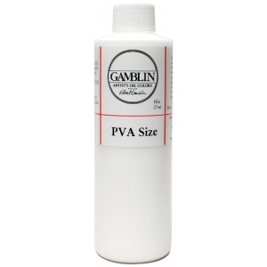 Gamblin PVA Size 8oz: 8 oz, (model G01308), price per each